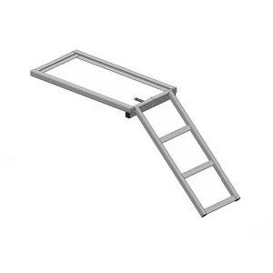 Escalera escamoteable 3 peldaños